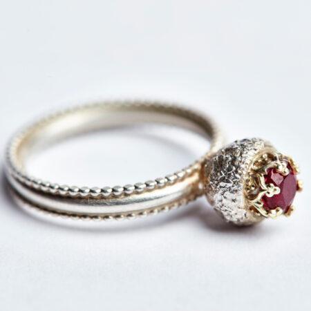 Ring Cupula mit Turmalin