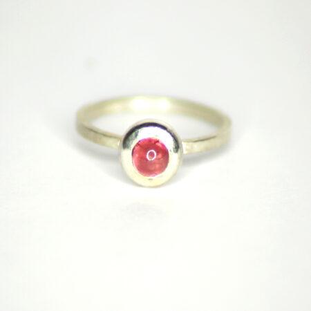 Ring Silber mit Rubin